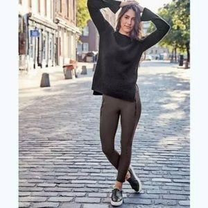 Athleta Sz XS Espresso Leggings Tights Yoga